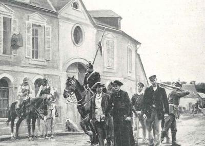 Tableau de Boutigny - Les otages.