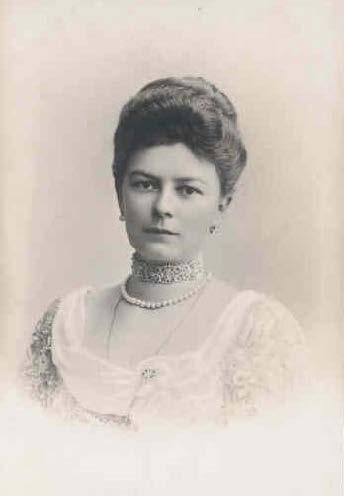 Photo de la duchesse de Honhenberg, Sophie Chotek de Chotkowa et Wognin.