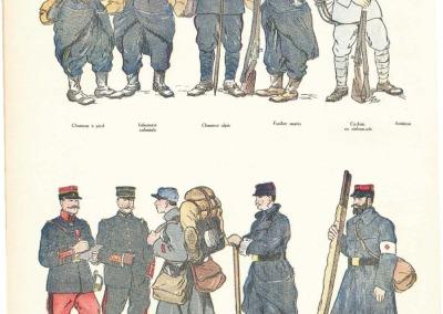 Tenue de campagne des armées françaises en 1914.