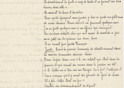 Déposition d'Édouard Noël-Bouhisse en 1919.