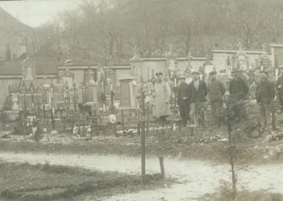Photo du cimetière d'Andenne.